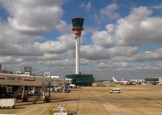 Heathrow airport tower